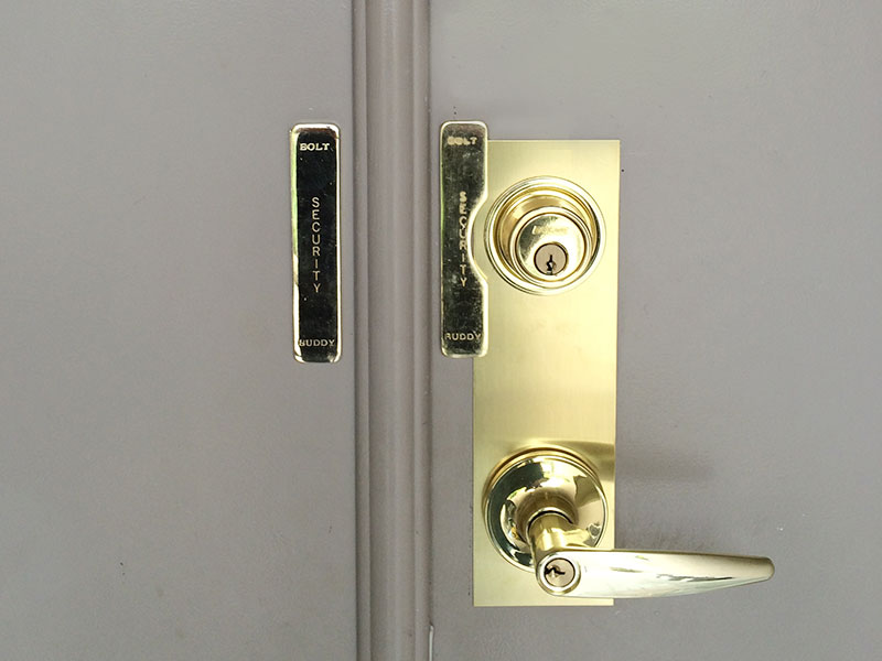 Bolt Buddy Deadbolt Reinforcing Dutch Door